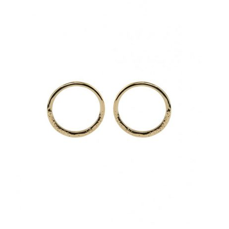 Tutti and Co Jewellery Sea Earrings Gold