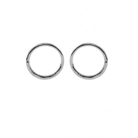 Tutti and Co Jewellery Sea Earrings Silver