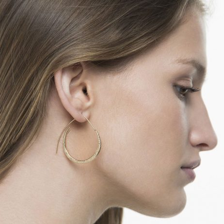 Tutti and Co Jewellery Shore Earrings Gold