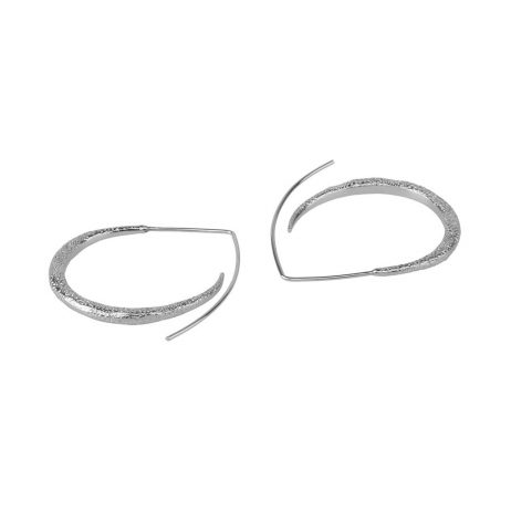 Tutti and Co Jewellery Shore Earrings Silver