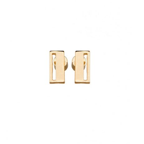 Tutti and Co Jewellery Urban Earrings Gold