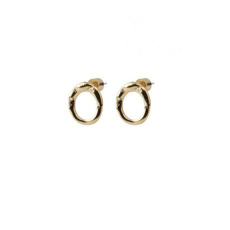 Tutti and Co Jewellery Ocean Earrings Gold