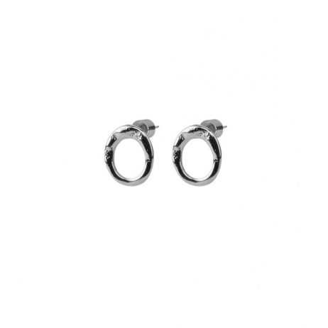 Tutti and Co Jewellery Ocean Earrings Silver