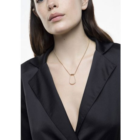 Tutti and Co Jewellery Crook Necklace Gold