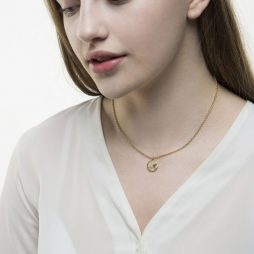 Tutti and Co Jewellery Cave Necklace Gold