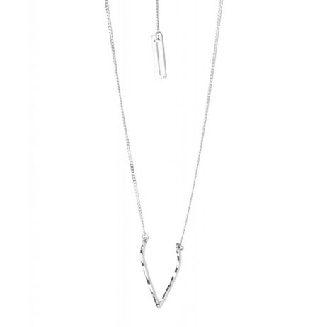 Tutti and Co Jewellery Wish Necklace Silver