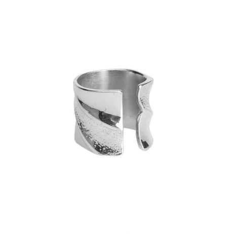 Tutti and Co Jewellery Humble Ring Silver