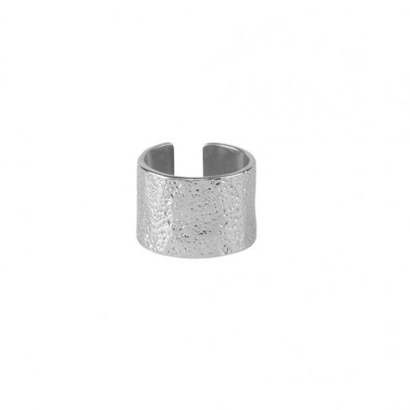 Tutti and Co Jewellery Sand Ring Silver