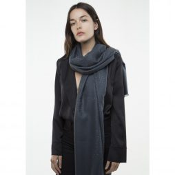 Tutti and Co Charcoal Stud Scarf
