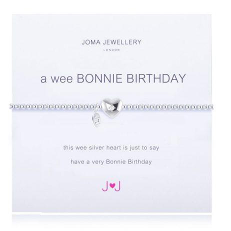 Joma Jewellery A Wee Birthday Bracelet 1505
