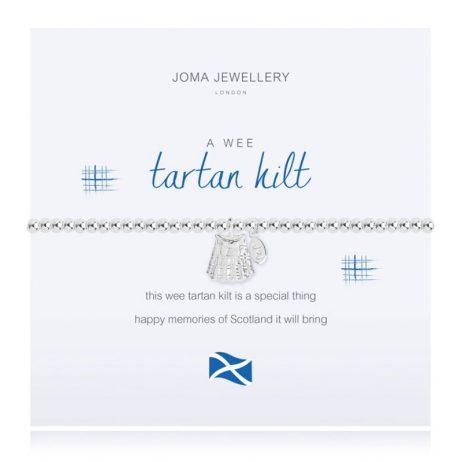 Joma Jewellery A Little Tartan Kilt Bracelet 2549