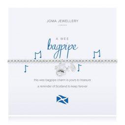 Joma Jewellery A Little Wee Bagpipe Bracelet 2550