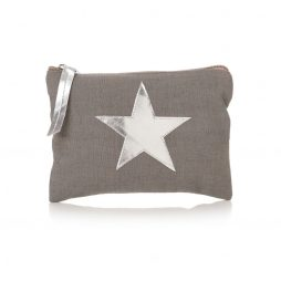 Shruti Designs Grey Star Burst Purse