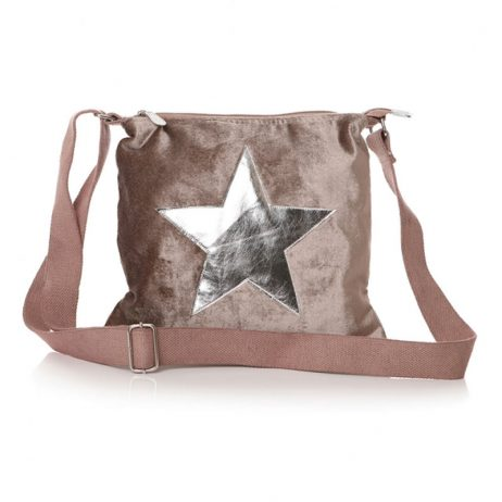 Shruti Designs Ta Da Beige Crossbody Star Bag - EOL