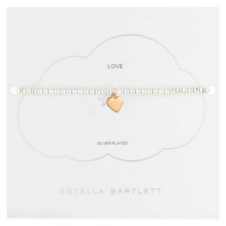 Estella Bartlett Liberty Bracelet Heart and Star EB2521C *