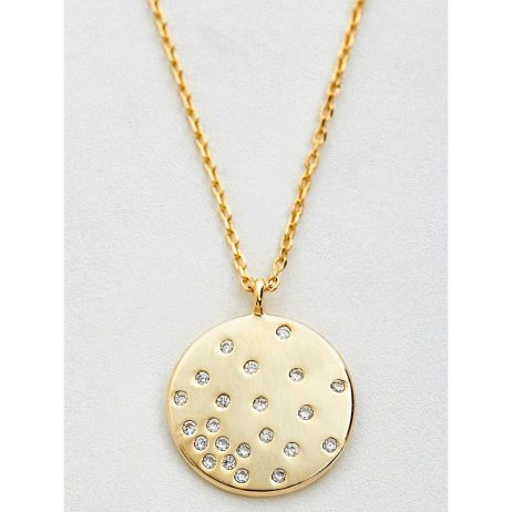 Estella Bartlett CZ Diffusion Gold Plated Necklace EB3192C
