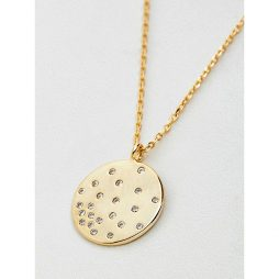 Estella Bartlett CZ Diffusion Gold Plated Necklace EB3191C