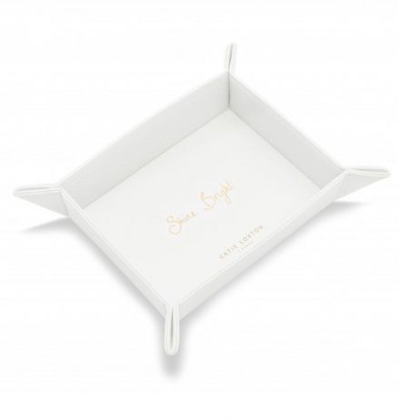 Katie Loxton Organising Tray Shine Bright (soft white) KLHA007