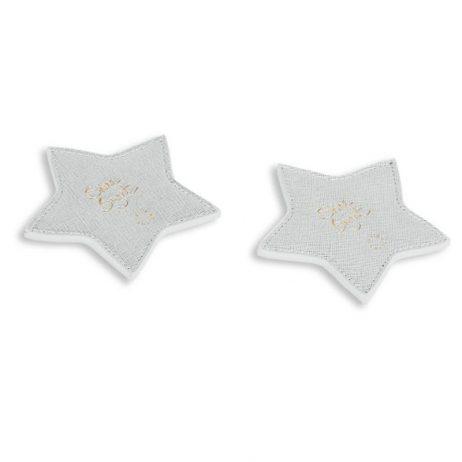 Katie Loxton Shine Bright Coasters (metallic silver) KLHA012