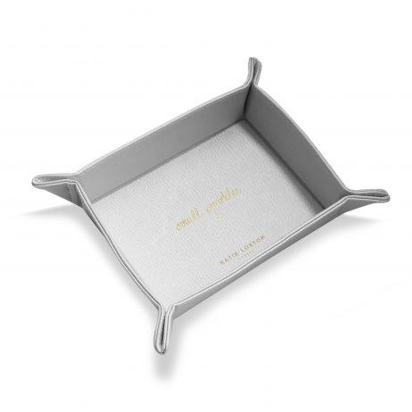 Katie Loxton Organising Tray Small Sparkles (metallic silver) KLHA014