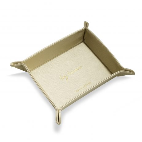 Katie Loxton Organising Tray Tiny Treasures (metallic gold) KLHA015