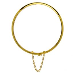 Hultquist Jewellery 18K Gold Plated Bangle