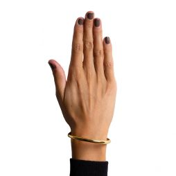 Hultquist Jewellery 18K Gold Plated Bangle S01001G