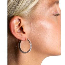 Hultquist Jewellery Sterling Silver Classic Annabella Hoop Earrings S01012S