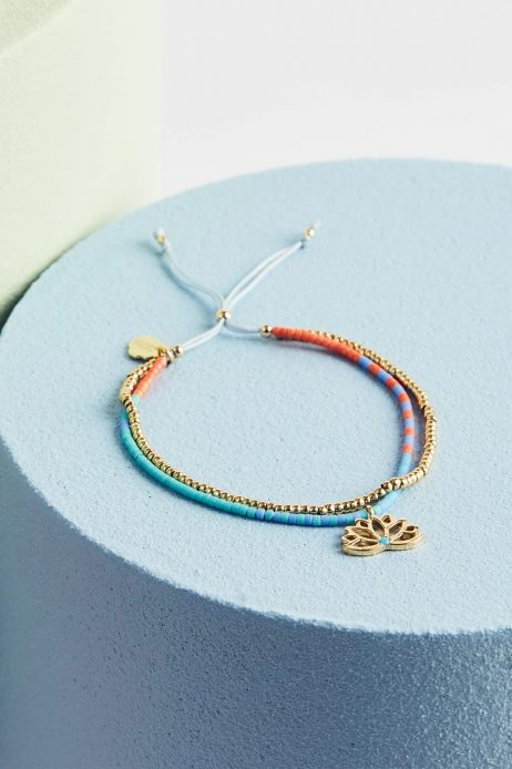 Estella Bartlett Lotus Phoebe Gold Plated Bracelet