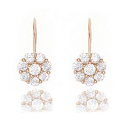 Joma Jewellery Cece Gold Crystal Earrings 553