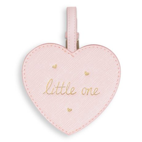 Katie Loxton Baby Luggage Tag Little One (metallic pink) BA0025