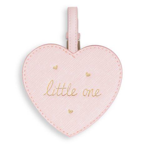 Katie Loxton Baby Luggage Tag Little One (metallic pink) BA0025 - EOL