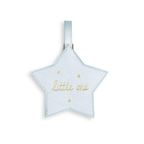 Katie Loxton Baby Luggage Tag Little One (metallic blue) BA0027