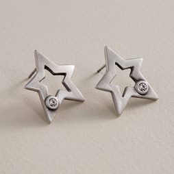 Danon Jewellery Ara Star Stud Earrings