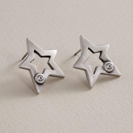 Danon Jewellery Ara Star Stud Earrings