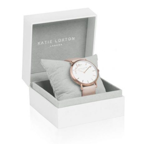 Katie Loxton Magical Moments Watch Love Life Watch Blush Pink KLW011