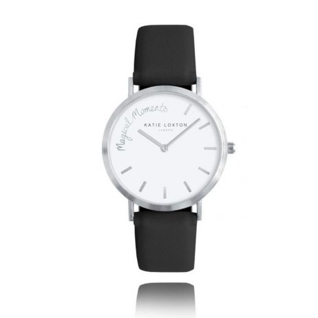 Katie Loxton Magical Moments Watch Hello Lovely Watch Black KLW013 EOL