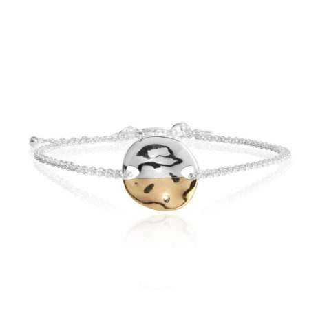 Joma Jewellery Sundipped Bracelet Silver and Yellow Gold Plated – Limited Edition 2986
