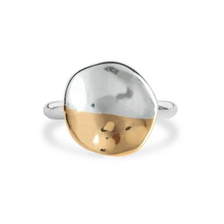 Joma Jewellery Sundipped Ring Silver and Gold Plated - Limited Edition 2991