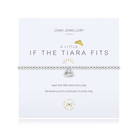 Joma Jewellery A Little If The Tiara Fits Silver Bracelet 3091