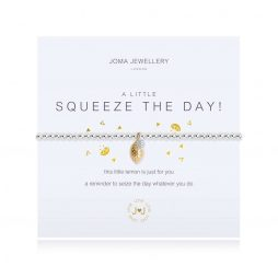 Joma Jewellery A Little Squeeze The Day Silver And Yellow Gold Charm Bracelet 3096