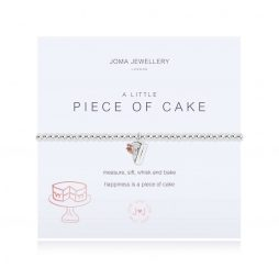 Joma Jewellery A Little Piece Of Cake Silver Bracelet 3101