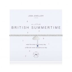 Joma Jewellery A Little British Summer Time ( silver cloud with rain) Bracelet 3103