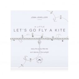 Joma Jewellery A Little Lets Go Fly A Kite Silver Bracelet 3104