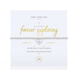 Joma Jewellery A Little Forever Exploring Silver Bracelet 3113