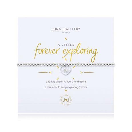 Joma Jewellery A Little Forever Exploring Silver Bracelet 3113