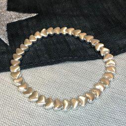 Gracee Jewellery Silver Hearts Bracelet