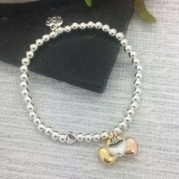 Life Charm Just Because You're Worth It Silver Bracelet LC039BW