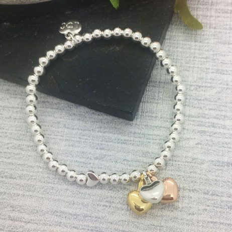 Life Charm Just Because You're Worth It Silver Bracelet