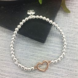 Life Charm Just Because You Are Leaving Silver Bracelet LC040BW
